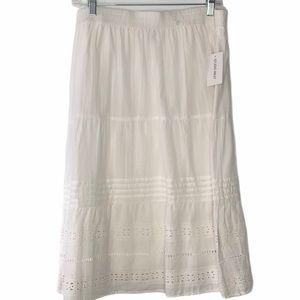 NEW!!!  Studio West eyelet skirt Large